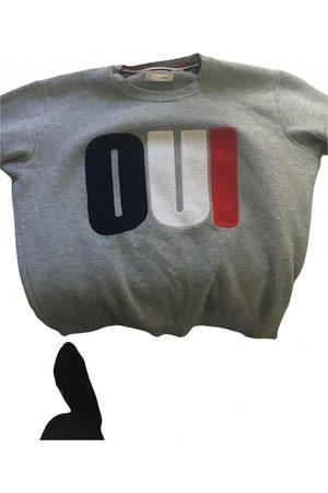 Celio Men Sweatshirts - Grey Cotton Knitwear & Sweatshirts