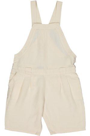 Proenza Schouler Ecru Linen Jumpsuits