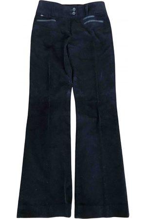 PEDRO DEL HIERRO Velvet trousers