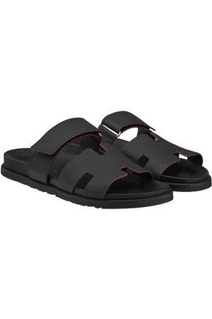 Hermès Leather Sandals