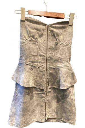 Jill Jill Stuart Women Denim Skirts - Grey Denim - Jeans Skirts