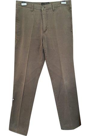 GUY LAROCHE Khaki Cotton Jeans