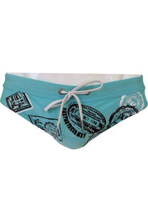 DIRK BIKKEMBERGS Turquoise Lycra Swimwear