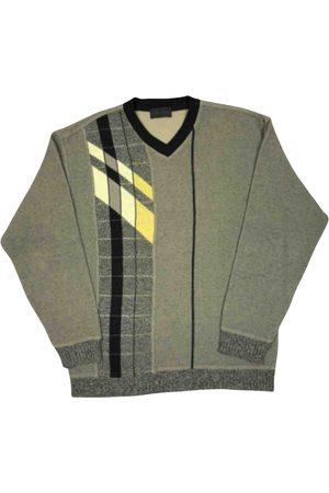 Carlo Colucci Grey Cotton Knitwear & Sweatshirts