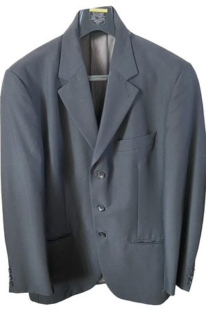 Kenzo Men Jackets - Anthracite Wool Jackets