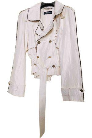 Dolce & Gabbana Ecru Silk Jackets