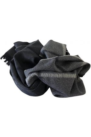 THEORY Navy Wool Scarves