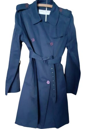 Nina Ricci Navy Cotton Trench Coats