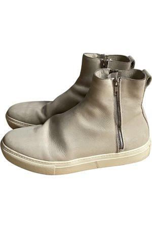 Samsøe Samsøe Leather Boots