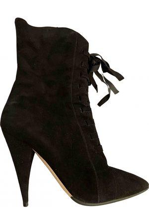 Miu Miu Lace up boots