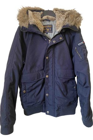 Woolrich Polyester Leather Jackets