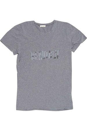 Dior Grey Cotton Polo Shirts