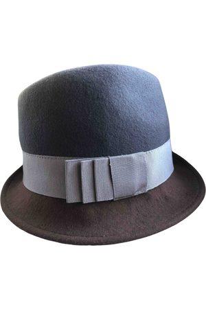 Maliparmi Grey Wool Hats