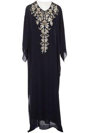 Oscar de la Renta Women Dresses - Navy Silk Dresses