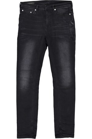 Neil Barrett Grey Cotton Jeans