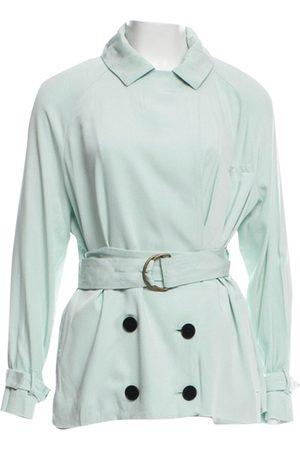 CREATURES OF COMFORT Women Trench Coats - Multicolour Silk Trench Coats