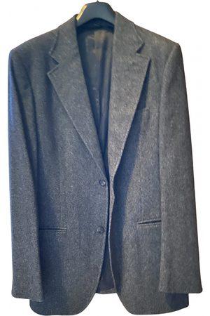 Dolce & Gabbana Men Jackets - Grey Wool Jackets