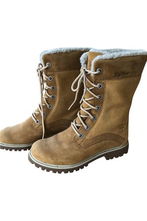 Helly Hansen Women Ankle Boots - Leather lace up boots