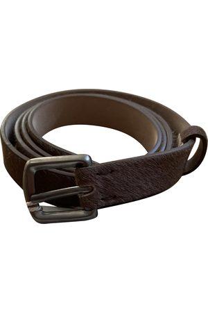 Brunello Cucinelli Leather Belts