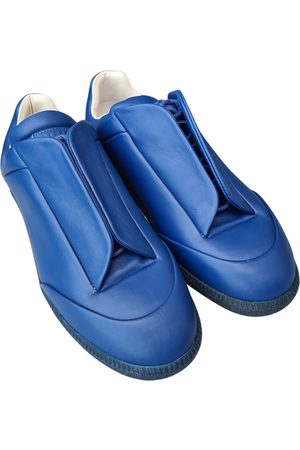 Maison Martin Margiela Future leather low trainers