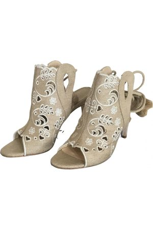 Isa Tapia Cloth Sandals