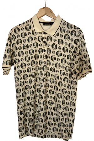 Dolce & Gabbana Silk Polo Shirts