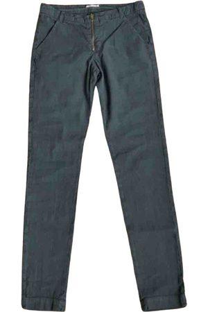 Bash Linen straight pants