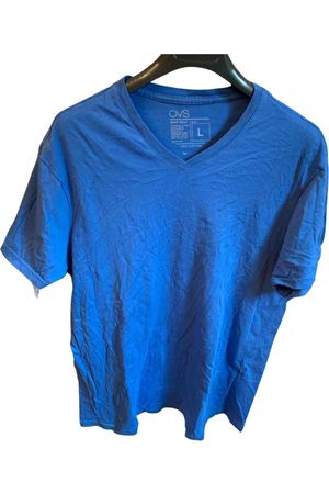 OVS Turquoise Cotton T-Shirts