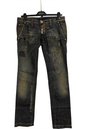 Dsquared2 Multicolour Cotton Jeans