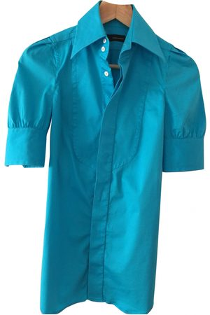 Dsquared2 Turquoise Cotton Top
