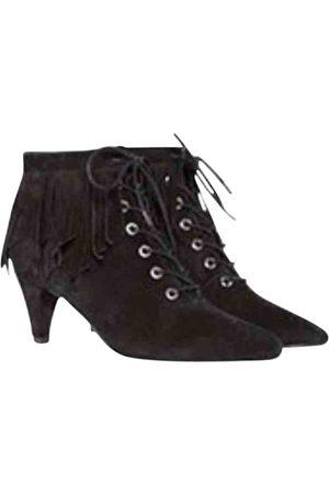 Maje Lace up boots