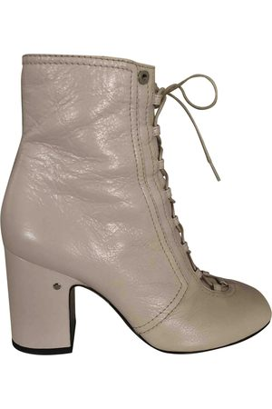 Laurence Dacade Leather lace up boots