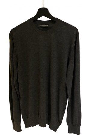 Dolce & Gabbana Grey Wool Knitwear & Sweatshirts