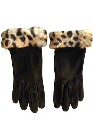 Philosophy di Alberta Ferretti Leather Gloves