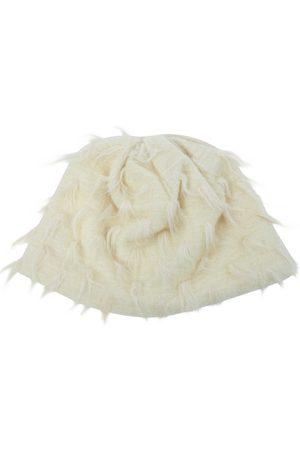 Courrèges Ecru Wool Hats