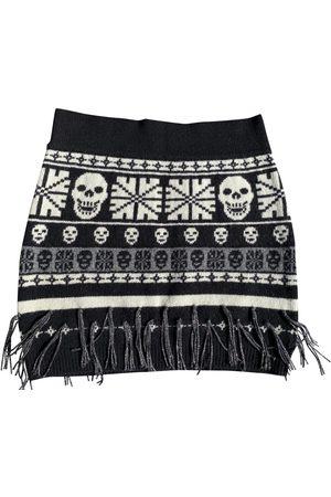 Philipp Plein Women Mini Skirts - Wool mini skirt