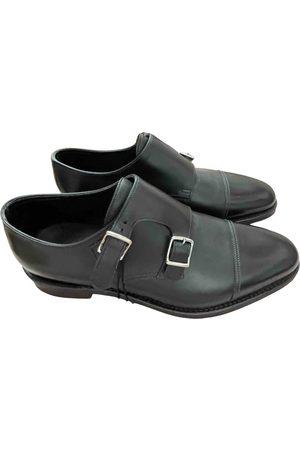 JOHN LOBB Leather Flats