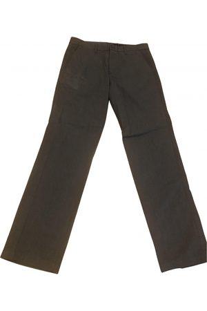 GAP Men Pants - Grey Cotton Trousers