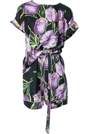 Dolce & Gabbana Women Jumpsuits - Multicolour Synthetic Jumpsuits
