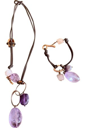 ippocampo Burgundy Crystal Jewellery Sets