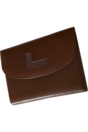 LANCEL Camel Leather Small Bags\, Wallets & Cases