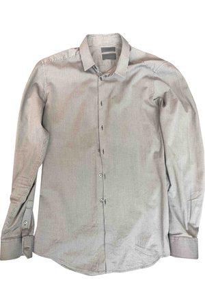 Costume National Grey Cotton Shirts