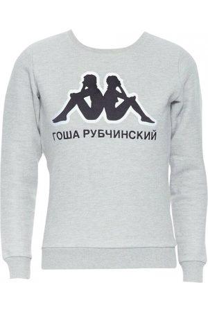GOSHA RUBCHINSKIY Men Sweatshirts - Grey Cotton Knitwear & Sweatshirt