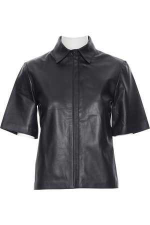 G. LABEL Leather shirt