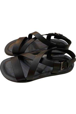 Salvatore Ferragamo Men Sandals - Leather sandals