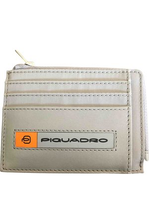 Piquadro Grey Cloth Small Bags\, Wallets & Cases