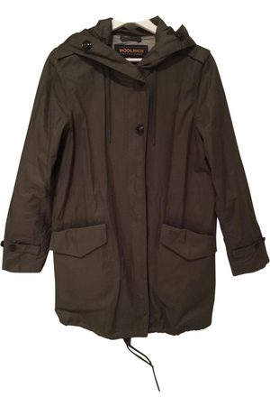 Woolrich Khaki Polyester Coats