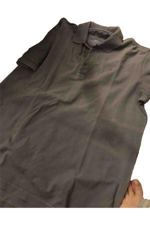 Lacoste Grey Cotton Polo Shirts