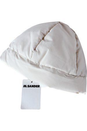 Jil Sander Ecru Polyester Hats