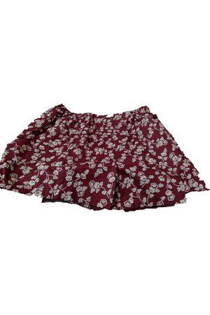 Cacharel Burgundy Cotton Shorts